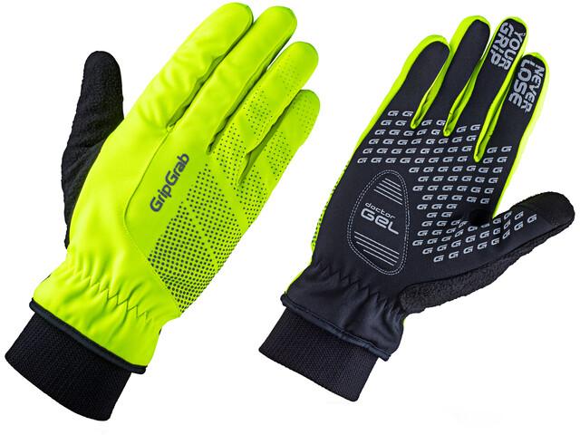 GripGrab Ride Windproof Hi-Vis Thermal Handskar grön - till ... 8b9dd035af05b